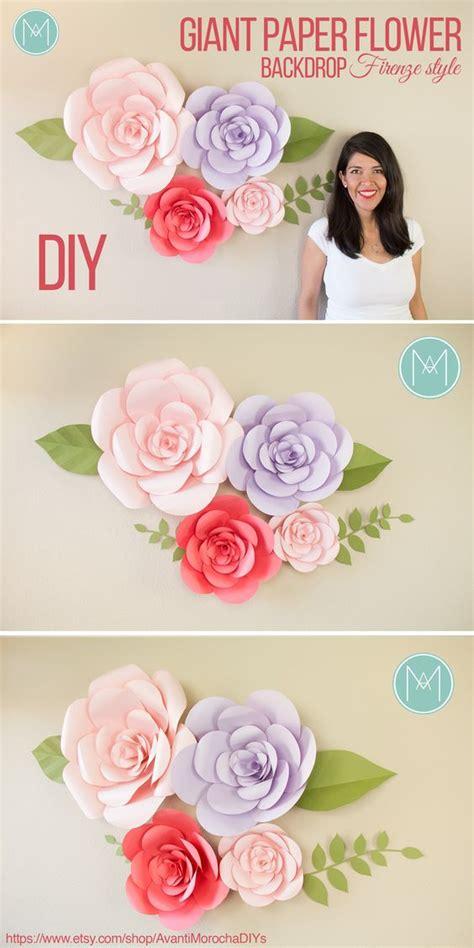 Buy Wedding Backdrop by Diy Paper Flower Backdrop Firenze Style Wedding