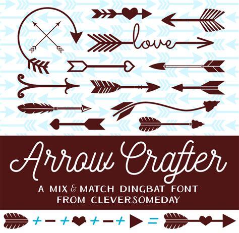 dafont typography arrow crafter font dafont com