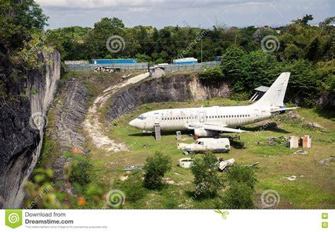 abandoned airplane  crashed plane wreck danger