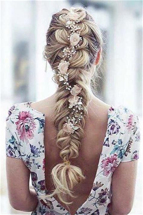 stylish eve flower braids 1000 ideas about wedding hair extensions on pinterest