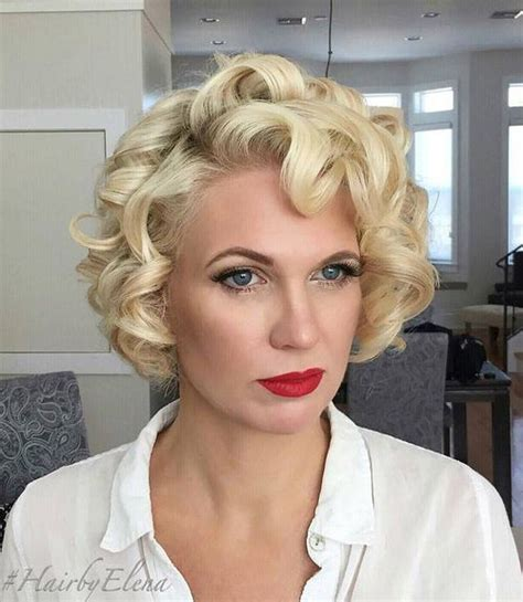 hot rollers for bobs 50 trendiest short blonde hairstyles and haircuts short