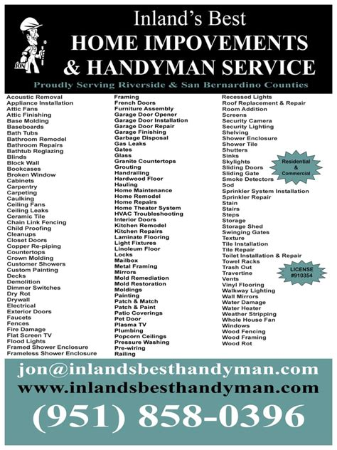 inland s best home improvements handyman service 12