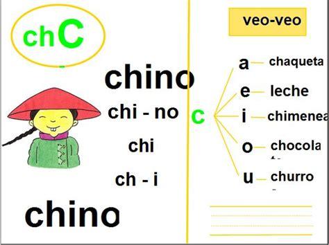 imagenes y palabras con ch fonema ch recurso educativo 33509 tiching