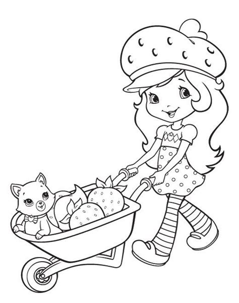 strawberry shortcake coloring pages games 31 best valentine coloring sheets images on pinterest