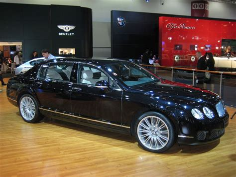 2009 bentley flying spur the 2009 bentley continental flying spur gets speed too