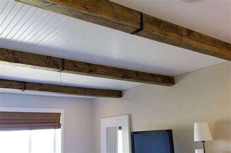 Diy Wood Beam Ceiling by 17 Best Cheap Ceiling Ideas On Cheap Bathroom