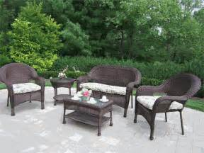 Traditional resin wicker outdoor furniture clearance trend home