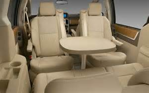 Chrysler Town And Country With Table How The Grand Caravan S Seating Features Evolved