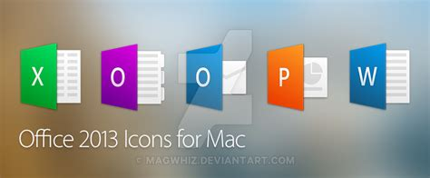 Office For Mac 2013 by Office 2013 Icons For Mac Osx By Magwhiz On Deviantart