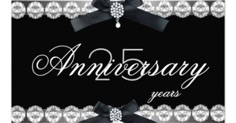 Diy Winter Wonderland Decorations - 25th anniversary party silver black white diamond personalized invite party invitations by
