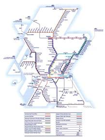 rail map operating company network maps