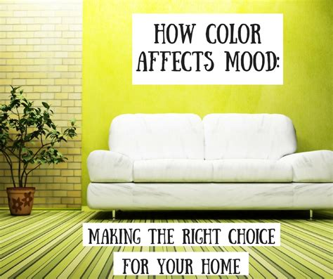 how color affects mood the paint manager