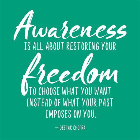 awareness quotes deepak chopra quote awareness