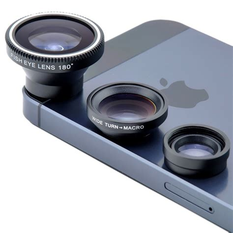Wide Angle Mobile Lens magnetic 3in1 fisheye fish eye lens wide angle macro