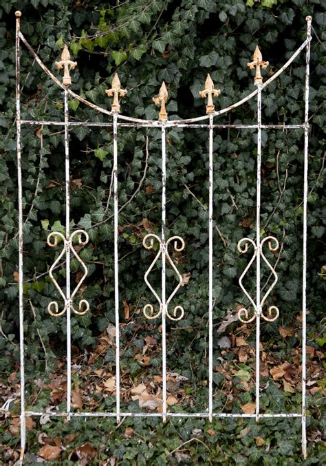 Black Wrought Iron Trellis 67 quot wrought iron swag trellis