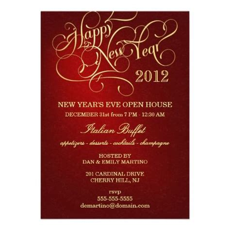 new year open house tradition 20 best images about new years day invitations on