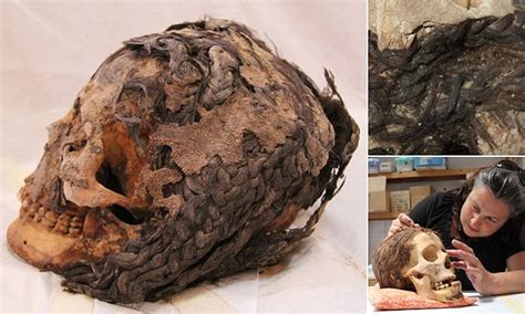 hair in egypt people and technology used in creating 3 000 year old remains of woman unearthed with 70 hair