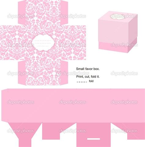 templates for miniature boxes box templates free gift box template stock vector