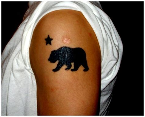 35 bear tattoo designs for your animalistic side
