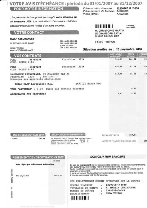 Exemple De Lettre Résiliation Assurance assurance auto echeance assurance auto maaf