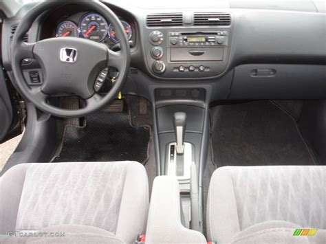 2005 Honda Civic Lx Interior by 2005 Honda Civic Lx Sedan Gray Dashboard Photo 59038212 Gtcarlot