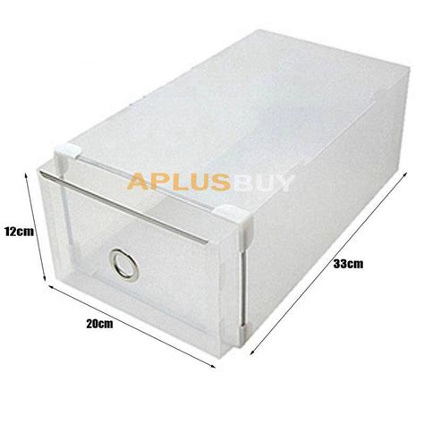 plastic stackable shoe storage boxes 20x metal edging plastic clear shoe storage box boxes