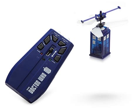 Usb Tardis Complete With Vworp by Doctor Who R C Flying Tardis Thinkgeek