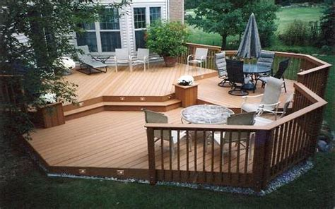 Awesome Deck And Patio Ideas For Small Backyards Images Designer Decks And Patios