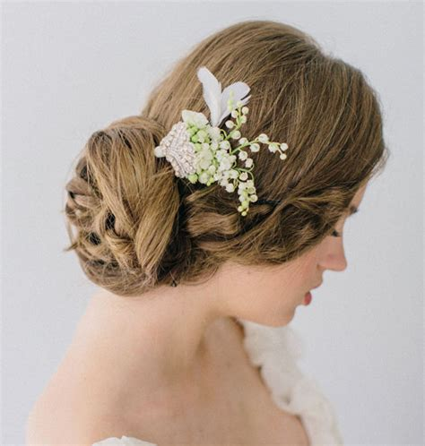 Wedding Hairstyles Etsy by Veil Alternatives Fascinators Flowers And Fancy Updos