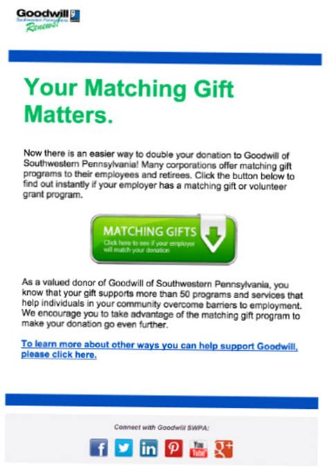 thank you letter matching gift how to market matching gifts in the donation process