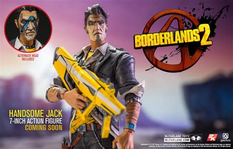 Mcfarlane Borderlands 2 Handsome borderlands 7 tiny tina and handsome coming soon
