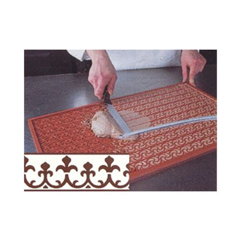 Relief Mat Baking by Pavoni 3 D Silicone Non Stick Decorating Mat Relief Mat