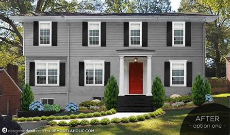 colonial curb appeal remodelaholic real rooms adding colonial curb appeal