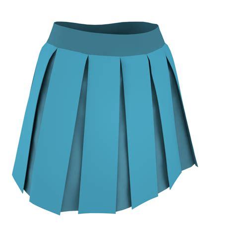 box pleated skirt v1 marvelous designer garment file cg