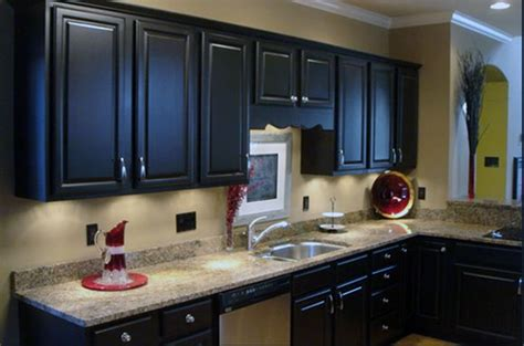 what color to paint kitchen with dark cabinets painted kitchen cabinets colors home design and