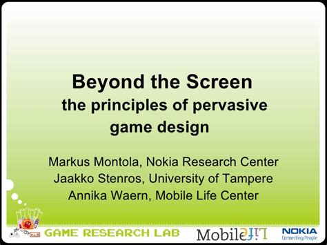 Beyond The Designers by Beyond The Screen Principles Of Pervasive Design