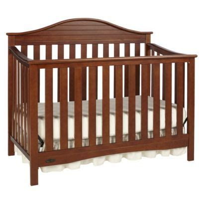 Graco Crib Walnut by Pin By Arnette On Baby Furniture And Decor