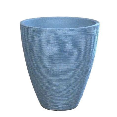 Grey Plastic Planters by Planter Riffel Light Grey Plastic Resistant Flower
