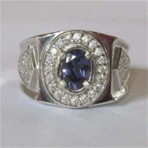 Ruby 6 Ring Perak 925 Asli koleksi cincin pria dengan model terupdate