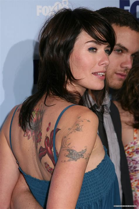 lena headey lena and her tattoos