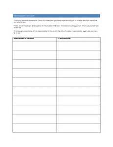 responsibility pie chart template free download