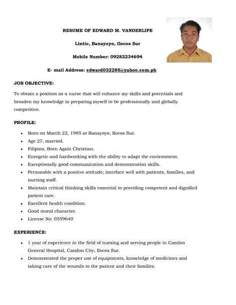 resume format without experience 2 inspirational resume samples for