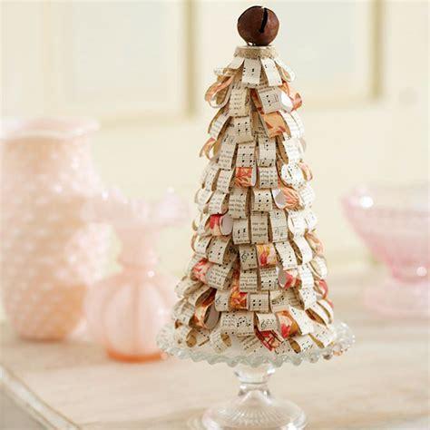 weihnachtsbaum selber basteln f 252 r den weihnachtstisch