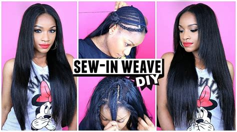 How To Do Weave Hairstyles by How To Do A Sew In Weave From Start To Finish Grace Hair