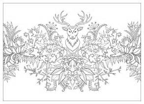enchanted forest coloring book enchanted forest 20 postales postales