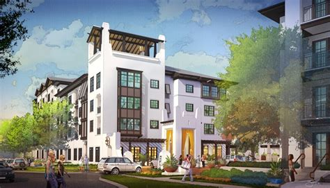 Griffin Park Apartments In Orlando Florida Jefferson Apartment To Build 178 Unit M F Project In