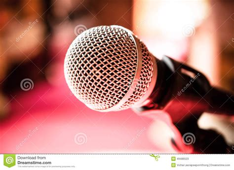 pink microphone clip art wallpaper microphone in karaoke room or conference room stock photo