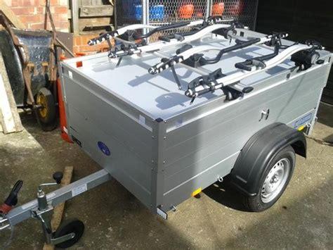 Trailer Top Bike Rack beautiful all aluminium anssems cing trailer with