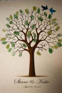 tree guest book fingerprint tree guest book disneywedding our wedding tree guest books trees