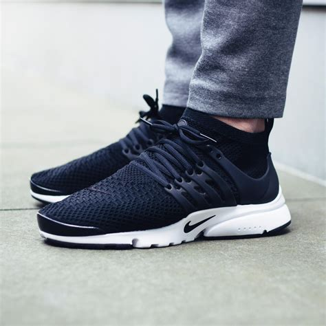 Murah Nike Air Presto Woven Navy Blue Premium Original Sepatu keep it stealth with the nike air presto flyknit ultra